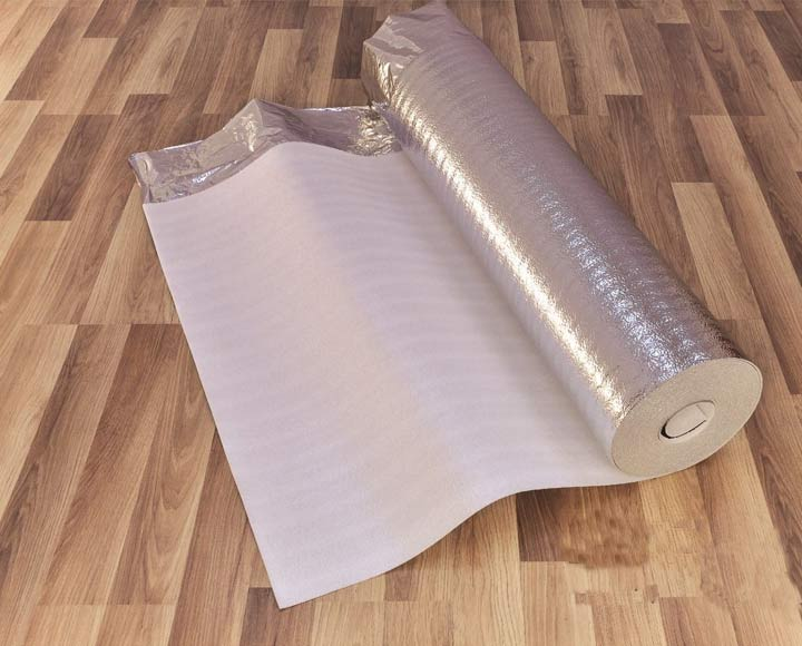 Laminate flooring underlay floor accessories foamtech for Floor underlayment